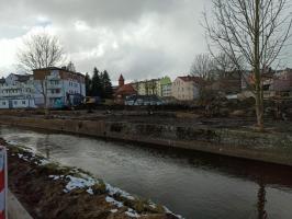 Trwają prace nad remontem Zaułka Drzewnego w Białogardzie