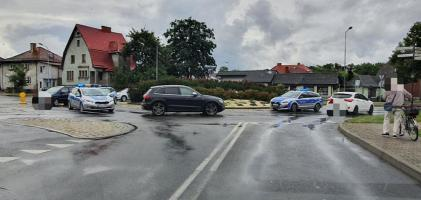 Potrącenie rowerzystki w Białogardzie