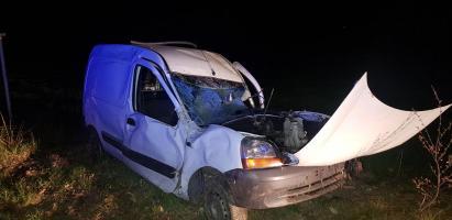 Poważny wypadek pod Stanominem - kierowca wyparował !