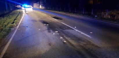 Poważny wypadek pod Białogardem - poszkodowany 45 latek walczy o życie!