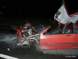 Tragiczny wypadek na krajowej 6