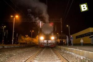 Pociąg RETRO w Białogardzie - zdjęcia