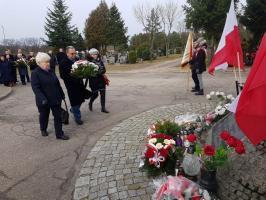 Obchody 79 Rocznicy I Masowej Deportacji Polaków na Sybir i do Kazachstanu. Msza znicze i kwiaty.