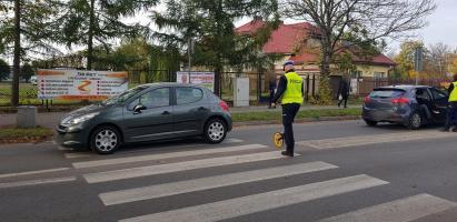 Potrącenie na przejściu dla pieszych w Białogardzie!
