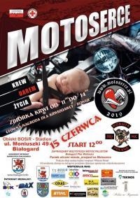 Motoserce już niebawem w Białogardzie! Oficjalny plakat.