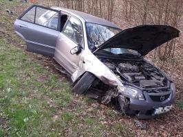 Wypadek pod Białogardem  - 10 miesięczne dziecko trafiło do szpitala!