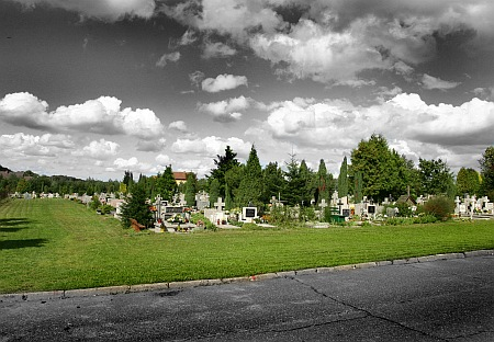 Cmentarz - Pękanino