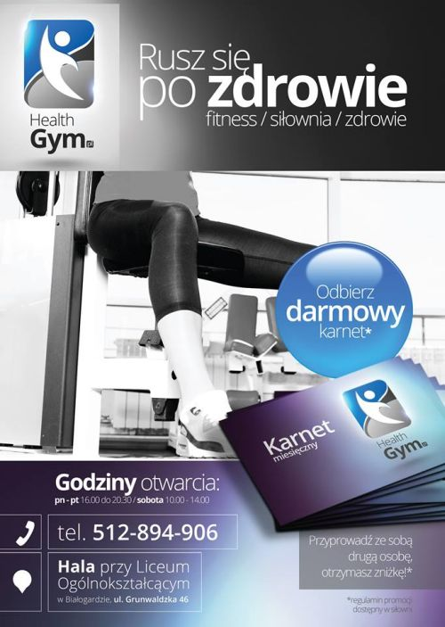 Health Gym - siłownia - fitness