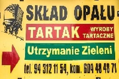 Skład Opału i Tartak Białogard