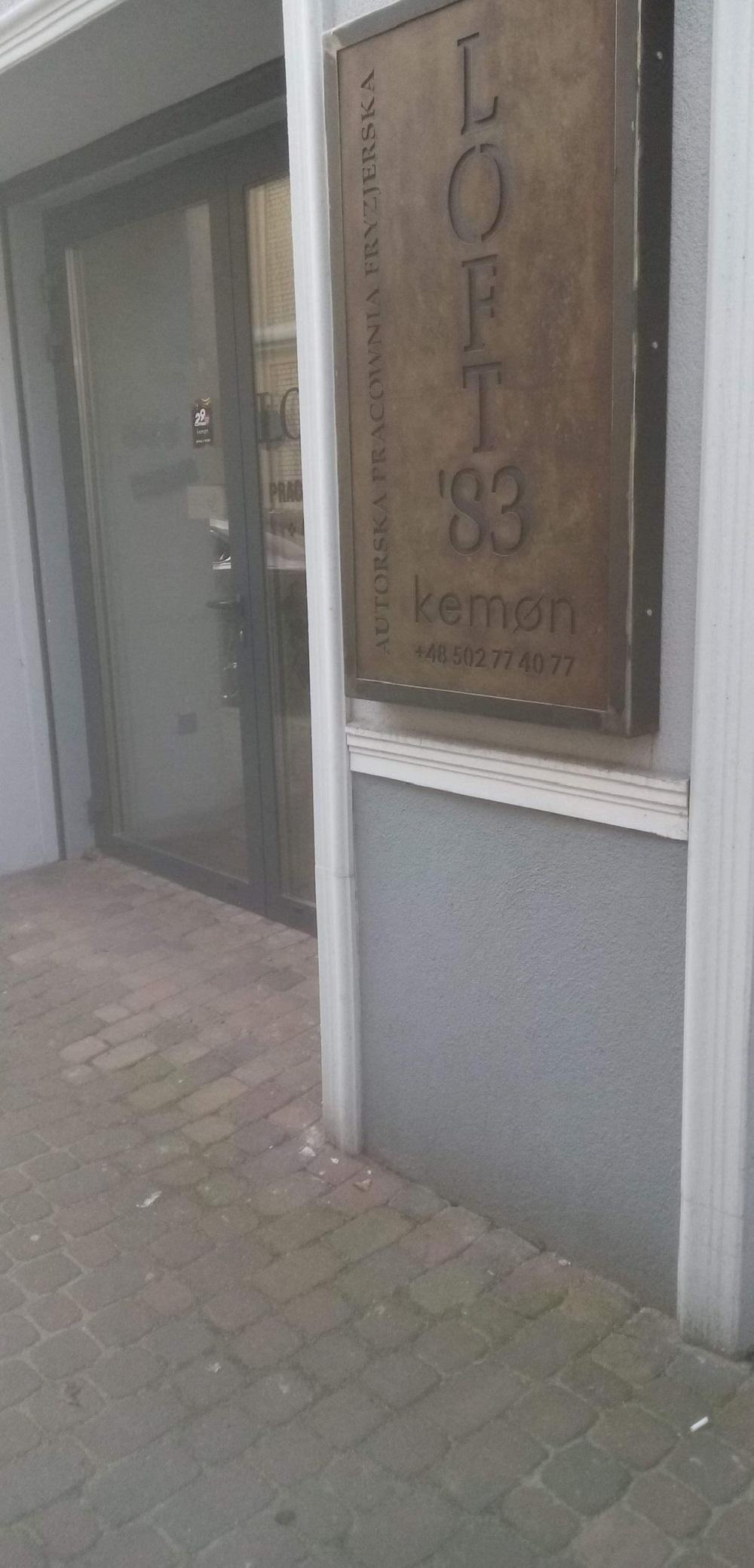 Loft'83 Pracownia fryzjerska