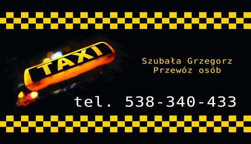 Taxi - Grzegorz Szubała - TAXI