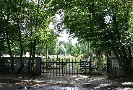Cmentarz przy szpitalu