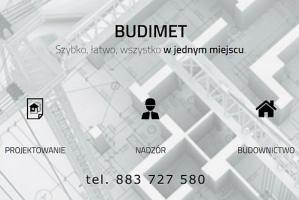 BUDIMET - projektowanie