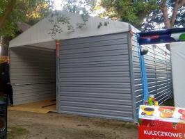 HAL-MAG - Stawianie hal namiotowych