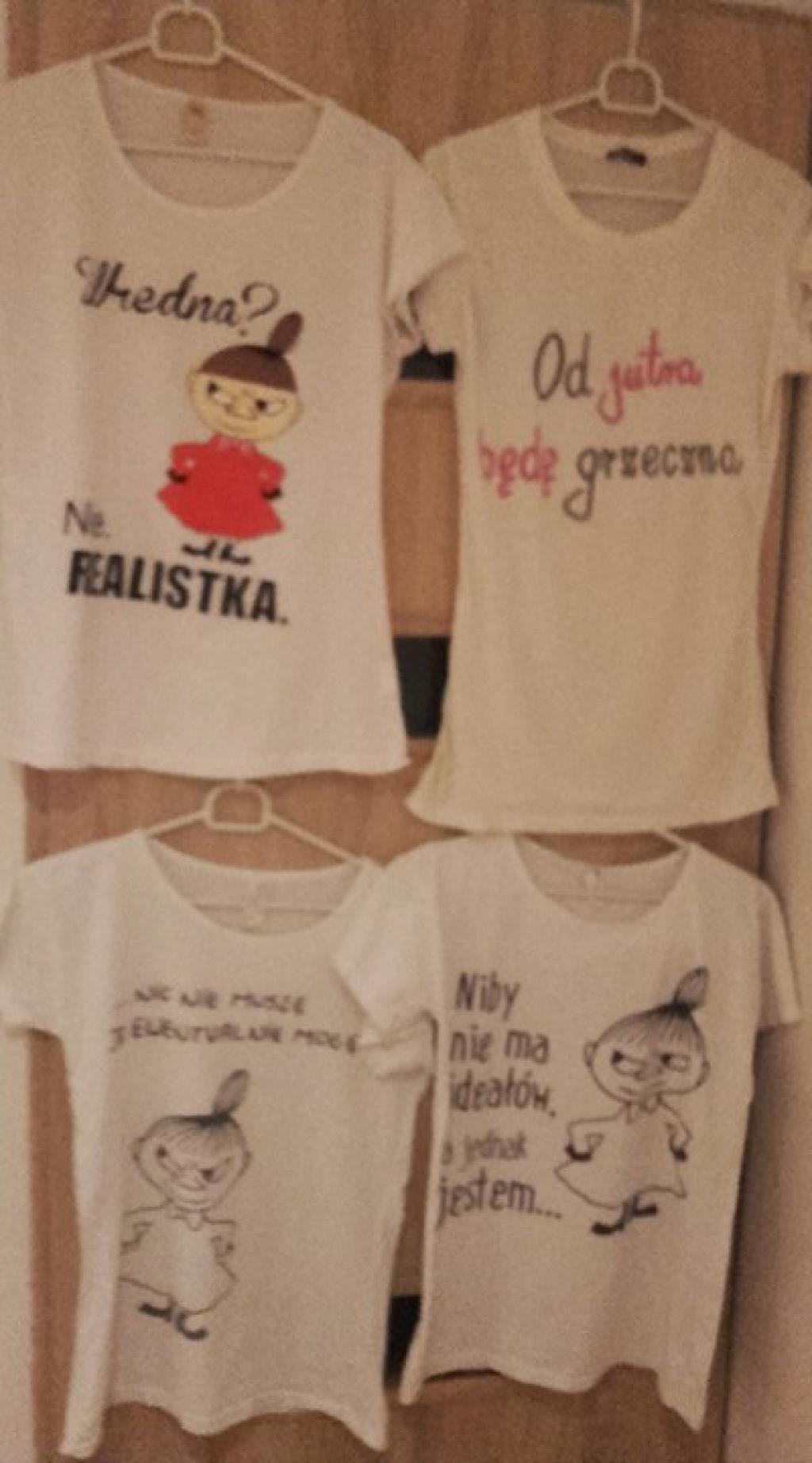 Bluzeczki dziewczęce,koszulki rozmiar S/ M