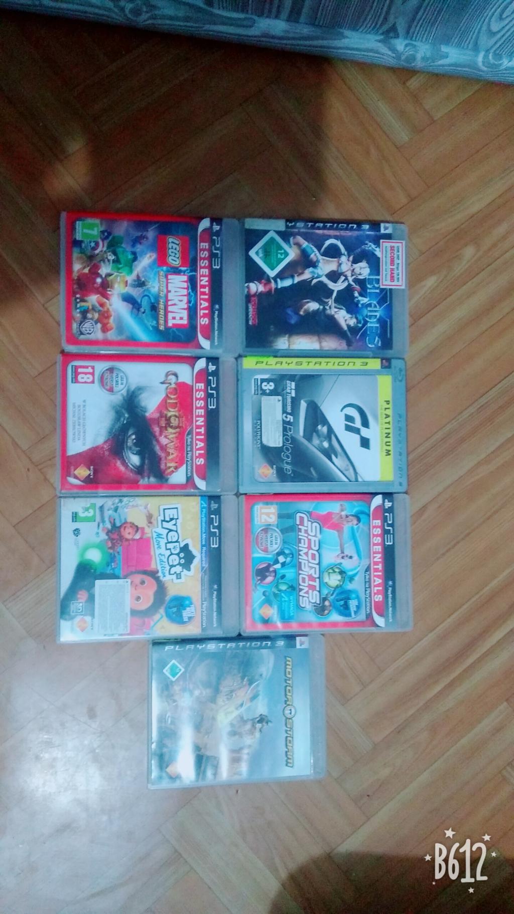 Sprzedam gry PS3