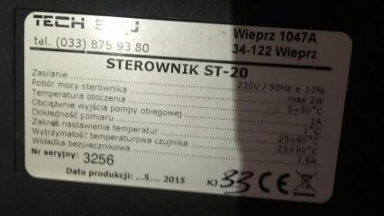 Sterownik do pompy c.o